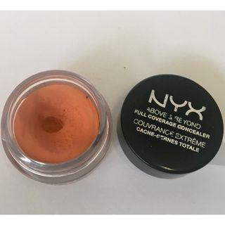 NYX full coverage concealer orange 橙色遮瑕膏