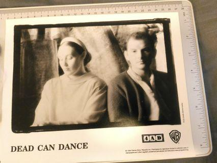 4AD殿堂級組合Dead Can Dance 黑白宣傳照