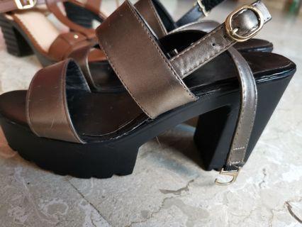 d1f0d57c0e5 Black Wedges High heels