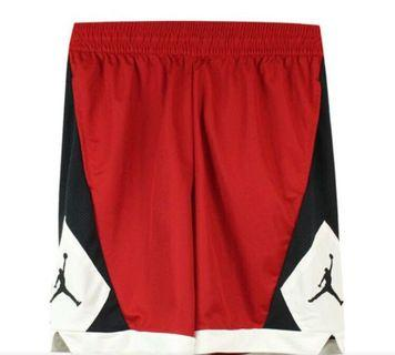🚚 全新 Air Jordan 籃球褲 透氣材質 紅色 Size:XL 台灣公司貨