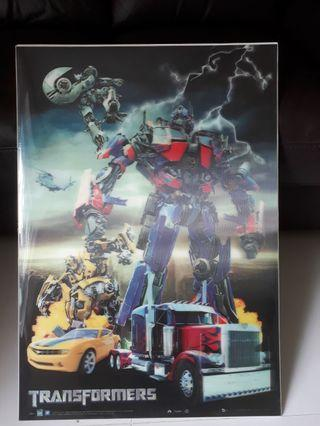 Transformers Movie 3D Poster