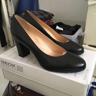 Geox Leather Heels Shoes