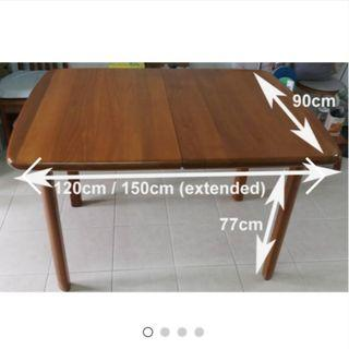 $230 - Nyatoh Hardwood Dining Table
