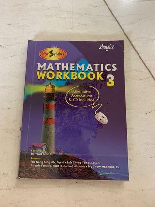 buku pelajaran matematika - mathematics math workbook shinglee