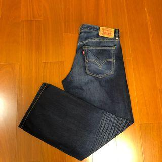 (Size 34/30)Levi's 529 低腰直筒牛仔褲