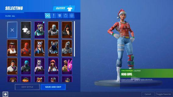 Fortnite personal stacked account(Fastdeal)