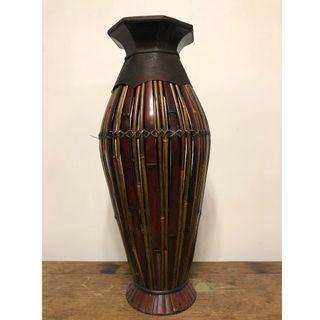 Bamboo Vase 高身竹製花瓶/擺設