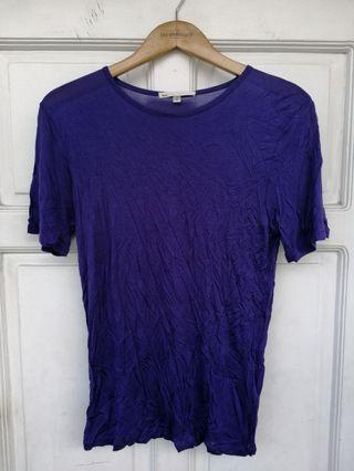 5CM Purple Drapey Shirt