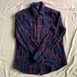 Uniqlo Flannel / Checkered Shirt #EST50