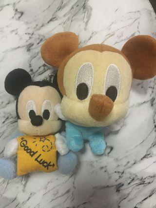 (包郵)Mickey BB米奇公仔