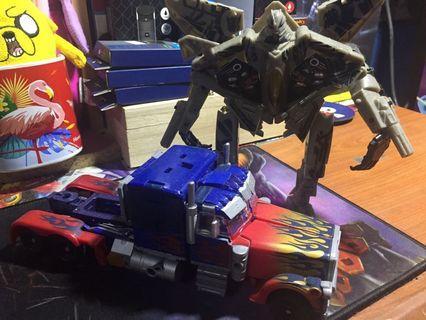 Bootleg!!!Transformer optimus prime and sky scream