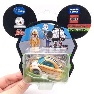(全新) 購自日本 原裝正品 Disney Chip n Dale Cubic Mouth 醜版松鼠 鋼牙大鼻 TOMY Car 合金車仔