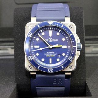 Bell & Ross 03-92 Blue Diver (Mint Condition & Full Set)