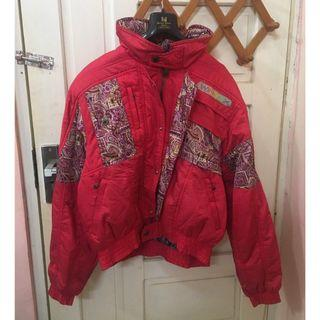 Jaket Vintage Cewek Batik