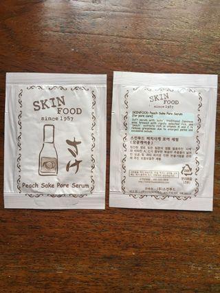 Skinfood (Korean skincare) Peach sake pore serum #endgameyourexcess