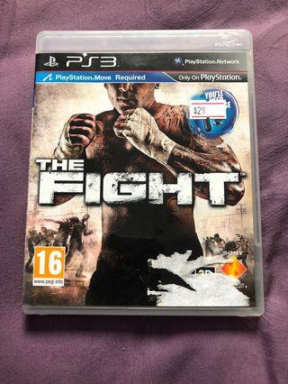 Sony PlayStation ps3 the fight