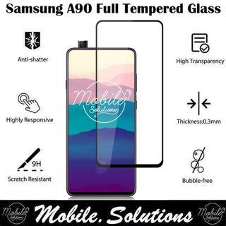 Samsung A90 Full Coverage Tempered Glass Screen Protector