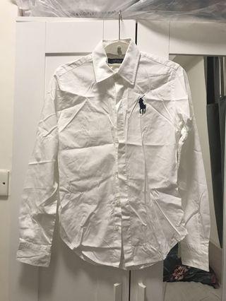 Polo Ralph Lauren 👍🏻 白恤衫 新淨 購自法國專門店
