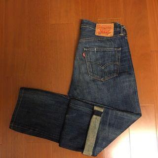 🚚 (Size 32/34) Levi's 經典501 排扣赤耳牛仔褲