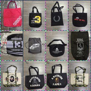 二手品牌袋1個$100,2個或以上$80