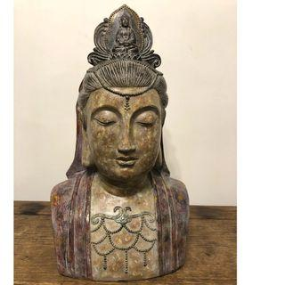 侍女瓷像 Porcelain Chinese Maid Statue