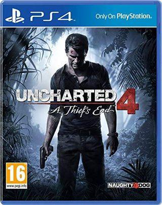 PS4 Uncharted 4- A thief's end