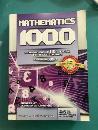 Mathematics 1000 MC