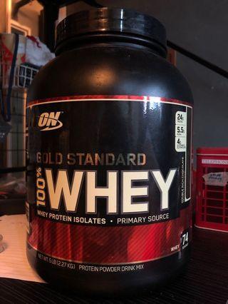 🚚 Optimum nutrition Whey