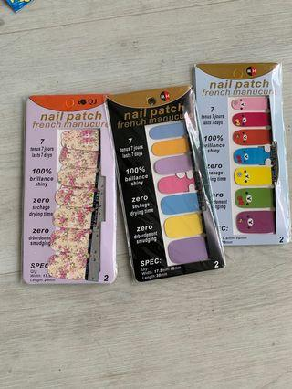 🚚 Nail patch French manucure