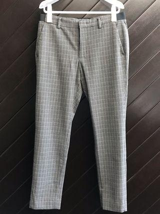 🚚 Plaid trouser