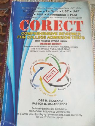 Upcat Reviewer Test Books Carousell Philippines