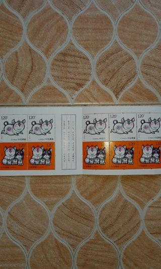 🚚 🐷🐷Pig Year - 2019 China Stamps🐷🐷