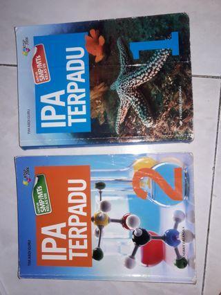 Buku Pelajaran IPA Terpadu SMP/MTs 1 dan 2