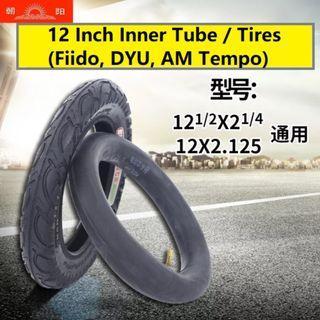 Fiido DYU Inner Tube Tires