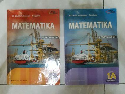 Buku Pelajaran Matematika SMP 1A dan 1B