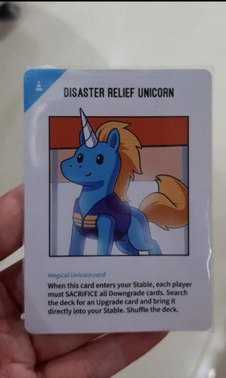 Unstable Unicorn Disaster Relief Card KSE