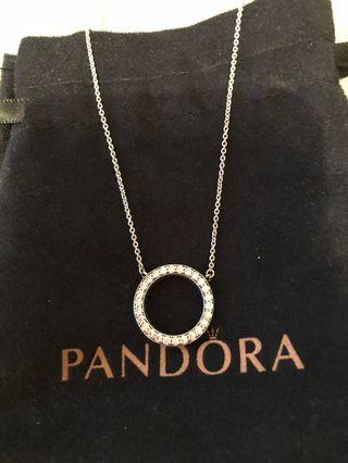Hearts of pandora Collier necklace