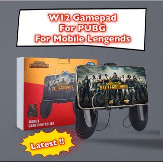 Latest!! 3in1 Portable Gamepad with Joystick Phone Holder for PUBG for Mobile Legent