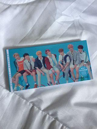BTS postcards (180 pcs)