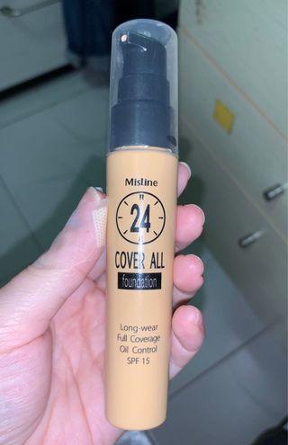 泰國 Mistine 24小時奶油肌隔離粉底液