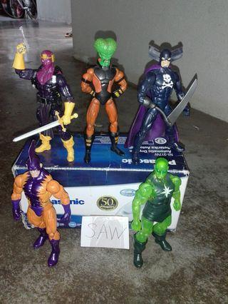Marvel legend masters of evils set