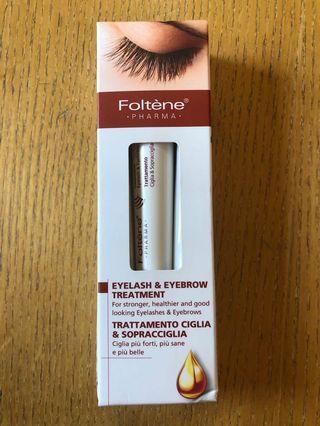 Eyelash and eyebrow treatment