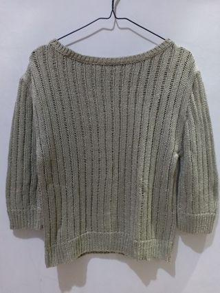 Sweater silver grey M&S