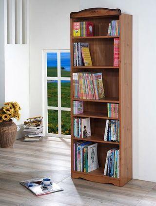 [全新NG庫存福利品出清]特力屋 新愛丁堡高六格書櫃 採E1板材