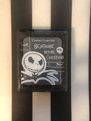 Nightmare before Christmas contact lens case