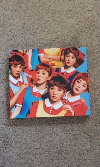 Red Velvet 'the red' album