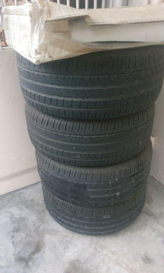 Stock Volkswagen scirocco 18inch Tyre with rims