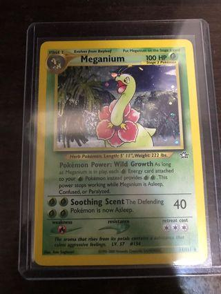 Pokemon Card Meganium (大菊花/大竺葵)Neo Genesis 11/111