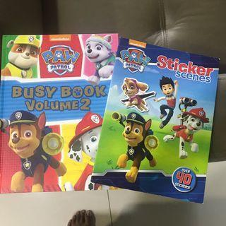 FOC Free With Purchase Paw Patrol Books #blessing