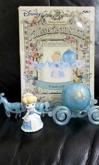 清貨全新迪士尼Disney Characters Cinderella B款公主南瓜車